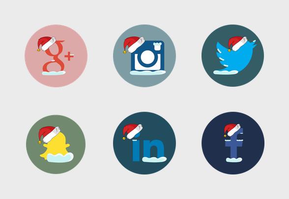 social-media-christmas-theme