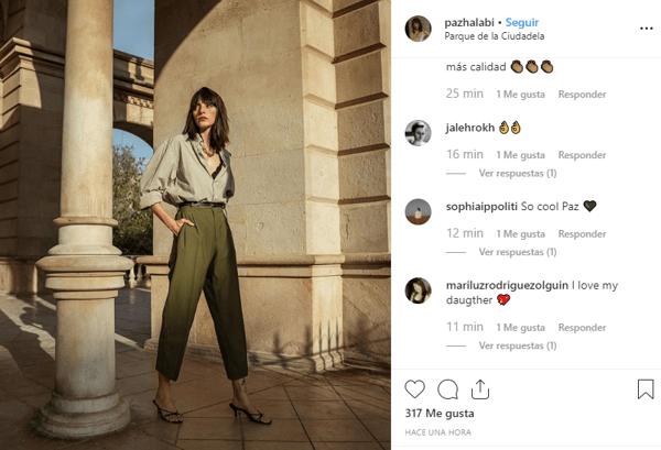 Instagram paz Halabi